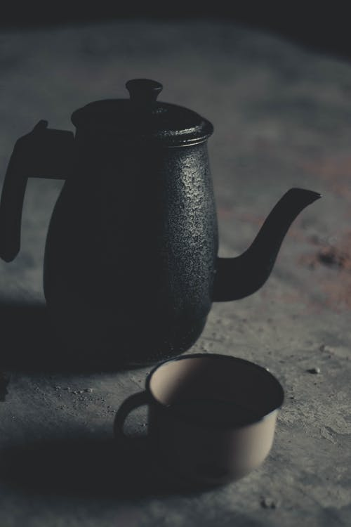 Photo Of Kettle Near Cup