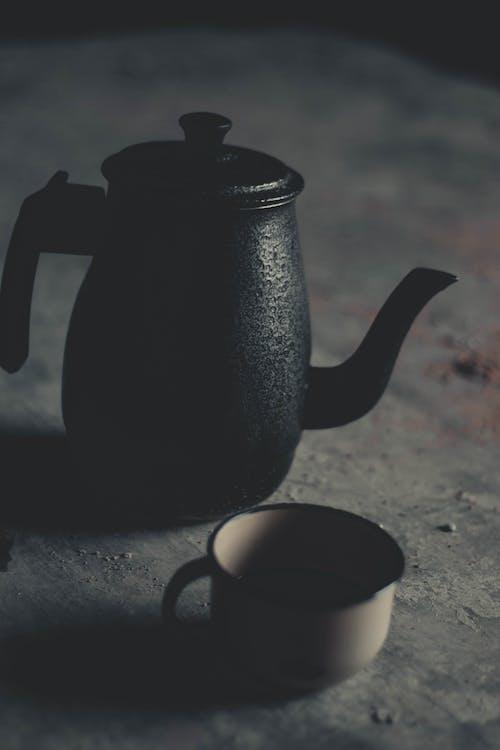 Imagine de stoc gratuită din adâncime de câmp, antichitate, băutură, cafea