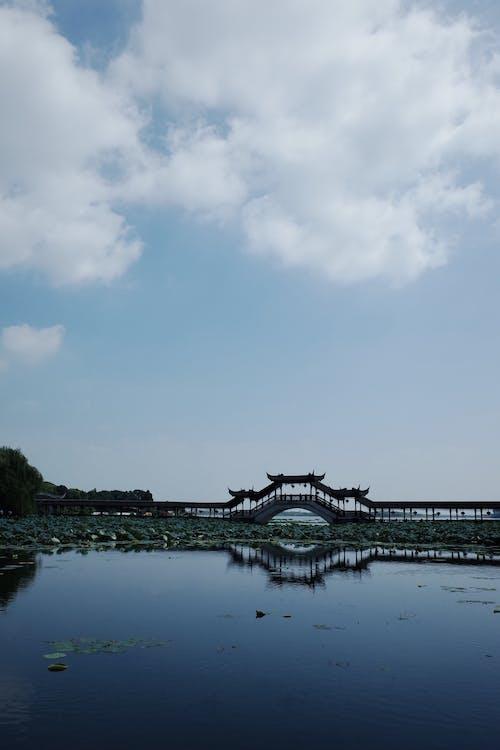 Foto profissional grátis de espaço, lago, lagoa