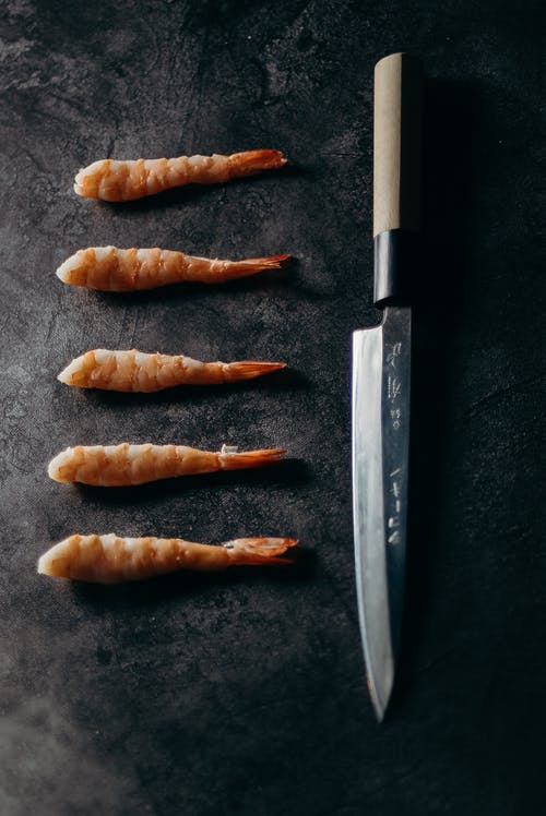 Tempura and Knife