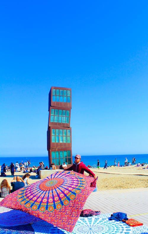 Ingyenes stockfotó a sebesült lövöldözős csillag, barcelona, la estrella herida, strand témában