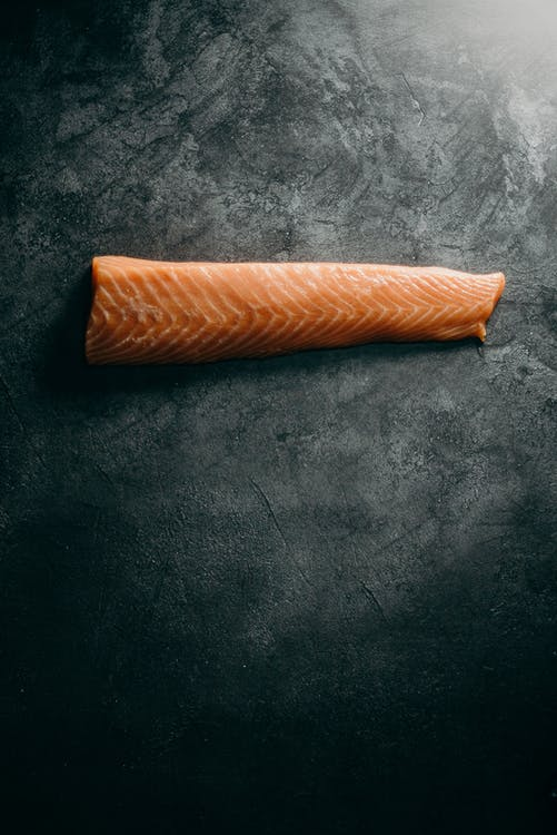Photo Of Sliced Salmon