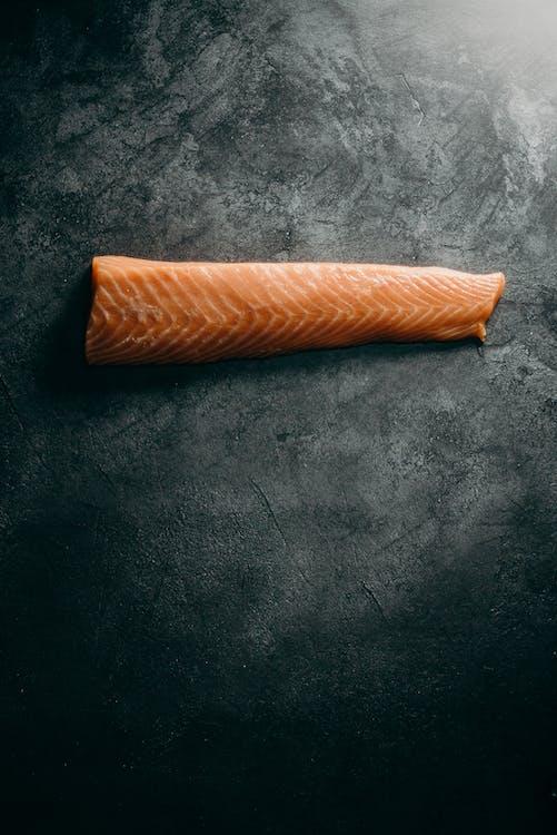 Photo Of Sliced Salmon