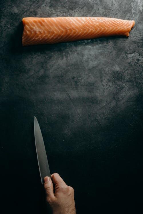 akşam yemeği, beceri, beslenme, bıçak içeren Ücretsiz stok fotoğraf