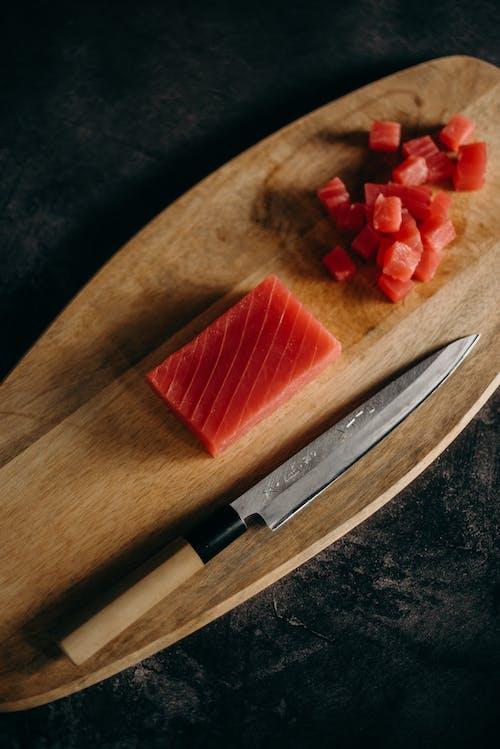 Foto d'estoc gratuïta de afilat, apetitós, carn de tonyina, cuina asiàtica