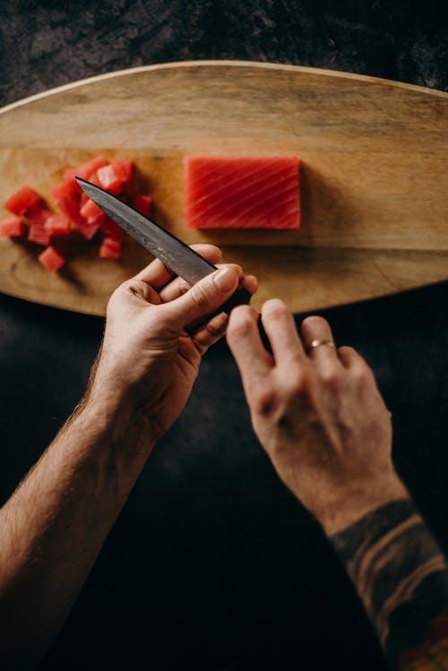 คลังภาพถ่ายฟรี ของ การจัดเตรียม, การถ่ายภาพอาหาร, การทำงาน, การทำอาหาร