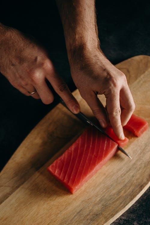 Imagine de stoc gratuită din apetisant, aptitudine, bucătar, carnea de ton