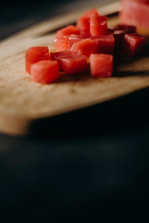 Fotos de stock gratuitas de atún, comida, comida asiática, cortar