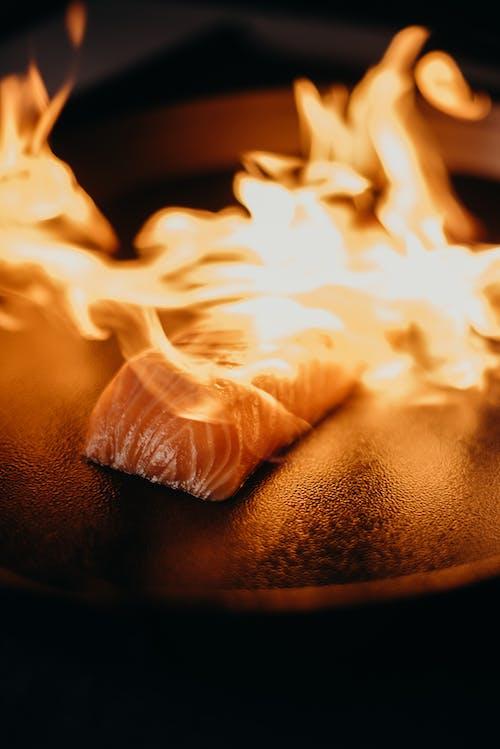 Salmon On Fire