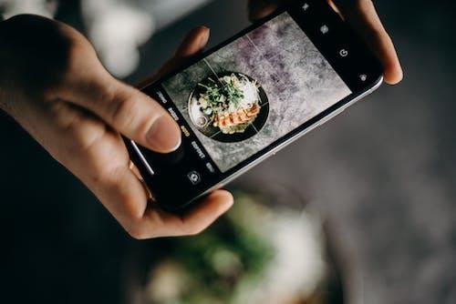 Δωρεάν στοκ φωτογραφιών με iphone, smartphone, απεικόνιση, ασιατικό φαγητό