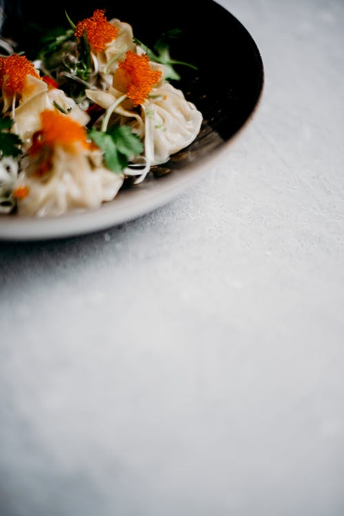 Photo Of Dumplings On Bowl
