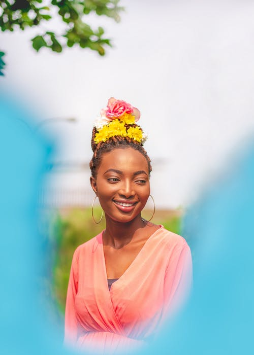 Photo Of Woman Wearing Flower Crown
