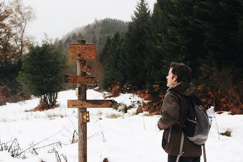 Fotos de stock gratuitas de al aire libre, aventura, direcciones, frío