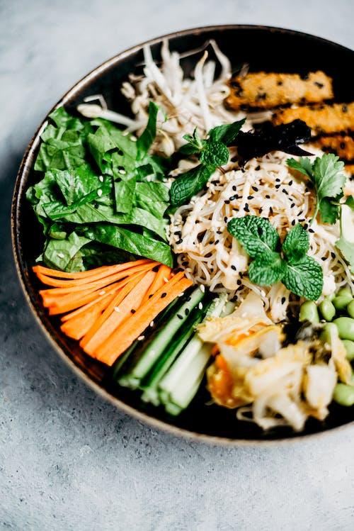 Gratis arkivbilde med agurk, asiatisk mat, bolle, delikat