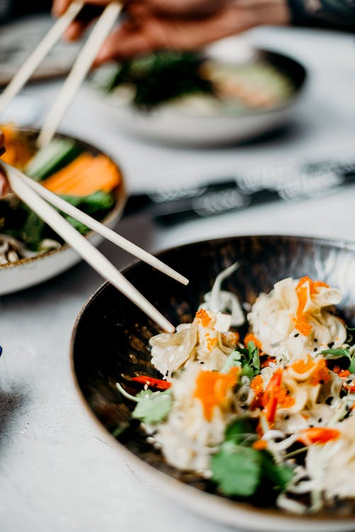 avondeten, Aziatisch eten, aziatische keuken