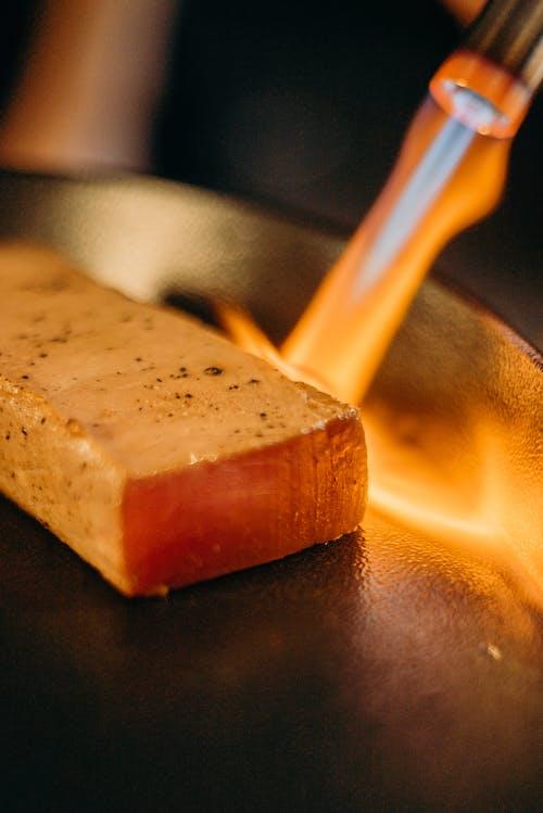 Fotos de stock gratuitas de almuerzo, ardiente, atún, cena