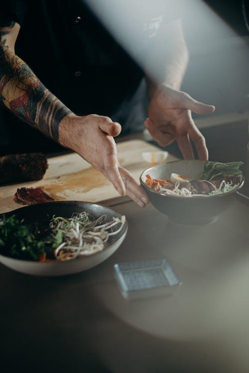 Foto stok gratis chef, Epikur, hidangan, keahlian memasak
