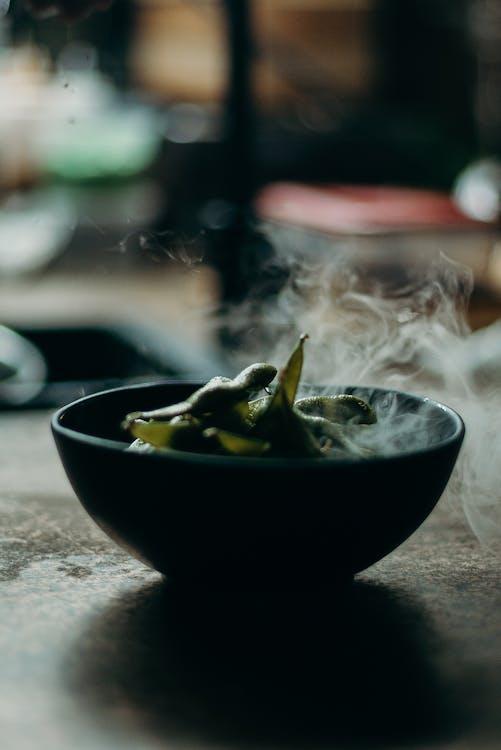 Bowl of Sweet Peas