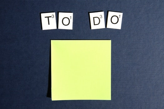 Free stock photo of postit, scrabble, to do, todo