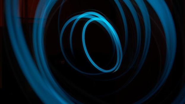 Free stock photo of art, lights, blue, dark