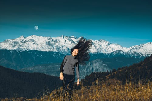 Free stock photo of autumn, girl, landscape, lifestyle