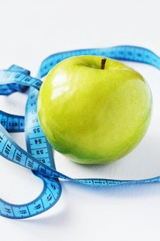 Free stock photo of apple, measure, diet, norms