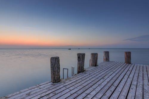 Fotobanka sbezplatnými fotkami na tému dok, horizont, krajina pri mori, mólo