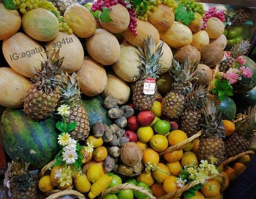 Kostenloses Stock Foto zu abstrakten hintergrund, amman, ananas