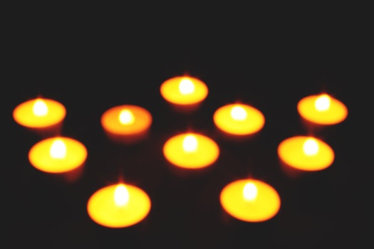Free stock photo of bokeh, candles