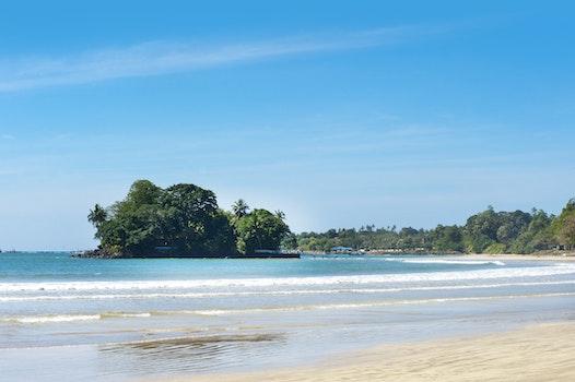 Free stock photo of sea, sky, sunny, beach