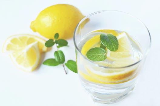 Free stock photo of water, drink, fresh, lemons