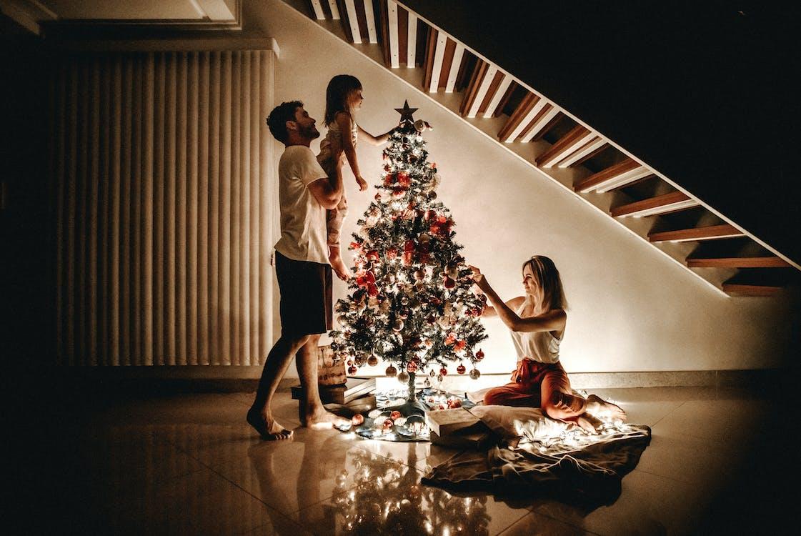Ingyenes stockfotó betlehemi csillag, család, december témában