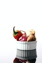 food, vegetables, bowl