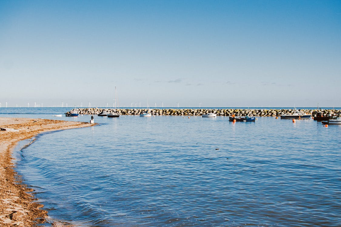 Photo of Boats on Seashore