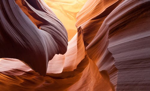 Photos gratuites de antelope canyon, arizona, caillou, canyon