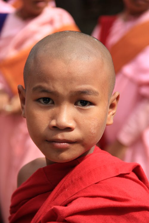 Foto profissional grátis de Asiático, Birmânia, budismo, monge