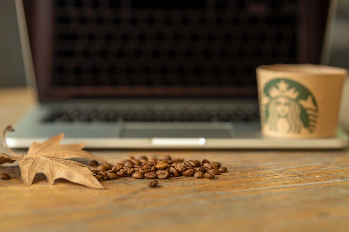 break, business, coffee beans