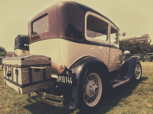 Free stock photo of classic, classic car, ford, vintage