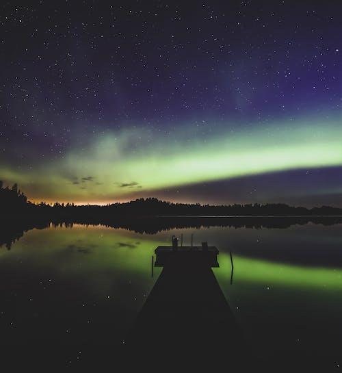 Free stock photo of aurora, aurora borealis, environment, Finland