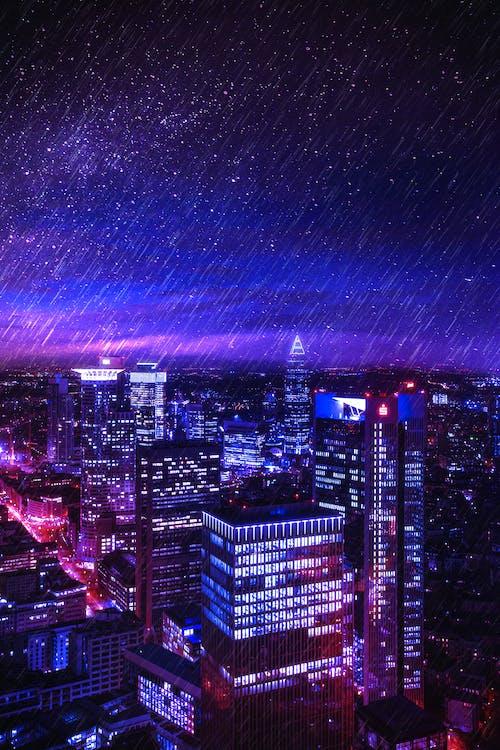 การออกแบบสถาปัตยกรรม, การเปิดรับแสง, ช่วงเย็นท้องฟ้า