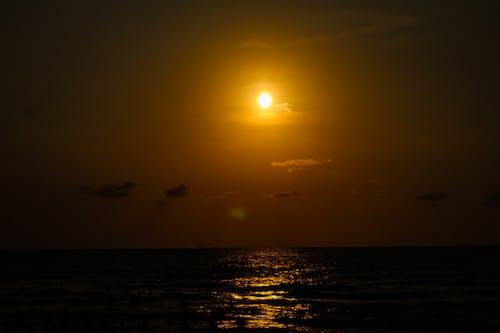 Gratis stockfoto met avondzon, beachs, dageraad, gouden zon