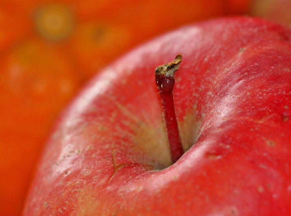 apple, czerwony, jabłko