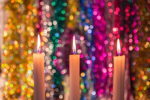 새해, 초, 크리스마스의 무료 스톡 사진