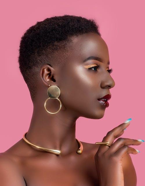 Kostenloses Stock Foto zu augen makeup, ebenholz, elegant, fashion