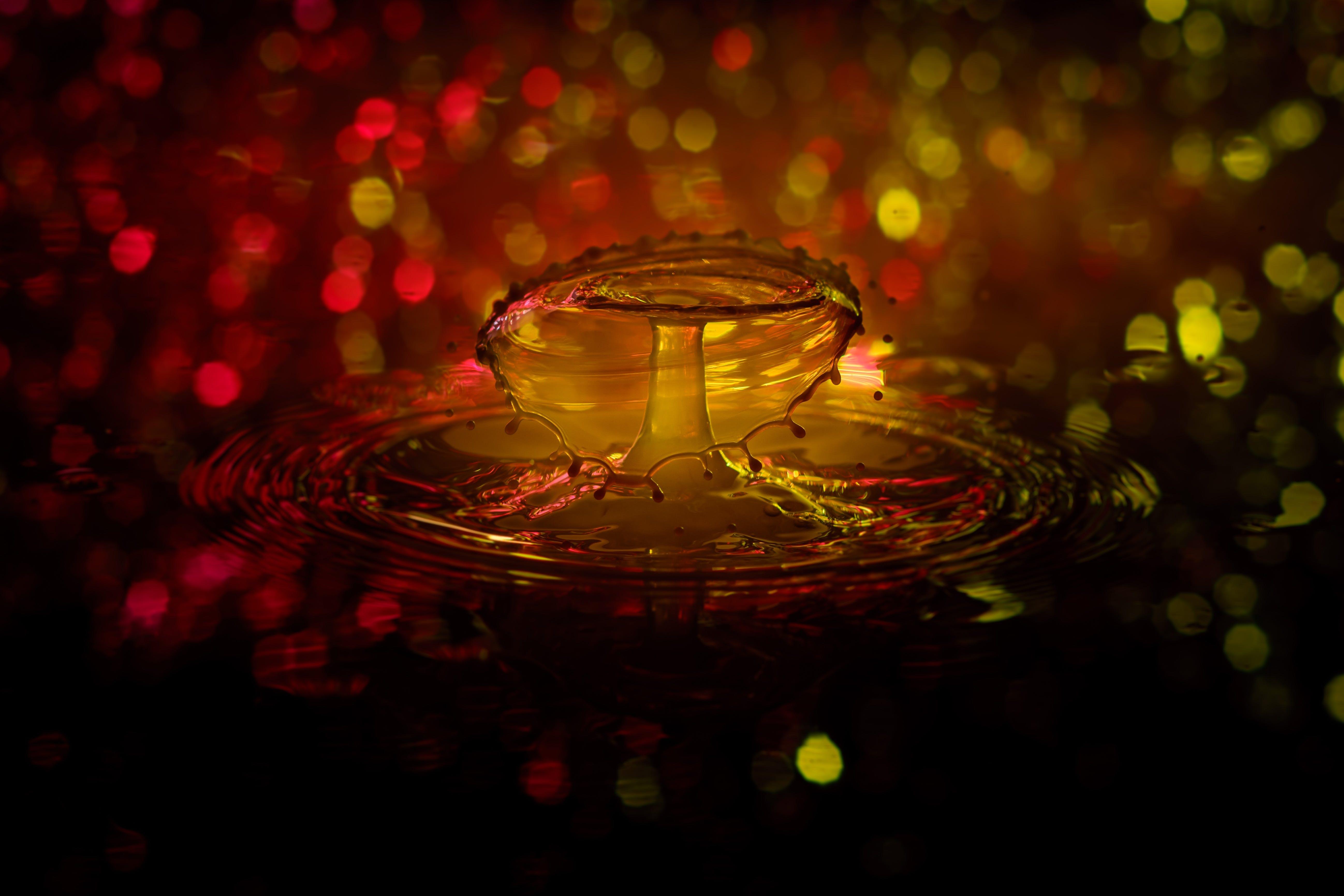 drip, drop of water, liquid