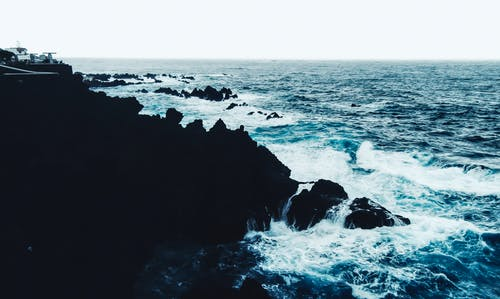 Free stock photo of cliffs, ocean