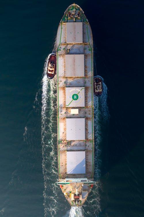 Gratis lagerfoto af både, bølger, bulk carrier, bulker