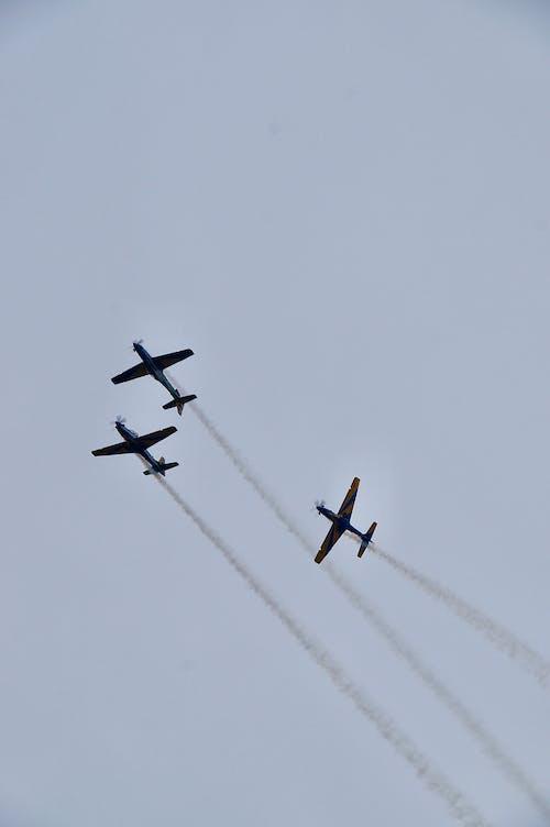 공기, 비행기, 비행기 날개, 아름다운 하늘의 무료 스톡 사진