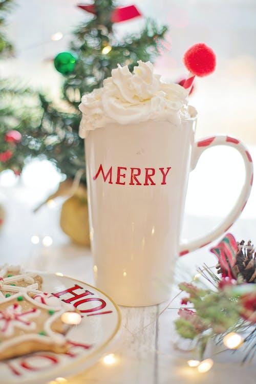 Gratis lagerfoto af fejre, flødeskum, Glædelig, jul