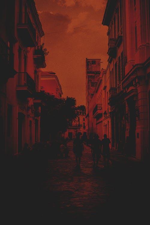 คลังภาพถ่ายฟรี ของ การเปิดรับแสง, คิวบา, ถนน, ถนนที่วุ่นวาย